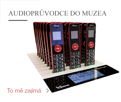 Audioprůvodce dobývá muzea