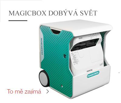 Magic box boduje v zahraničí
